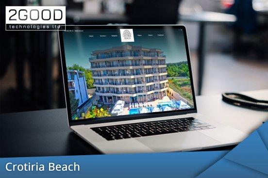 Crotiria Beach - хотелски сайт