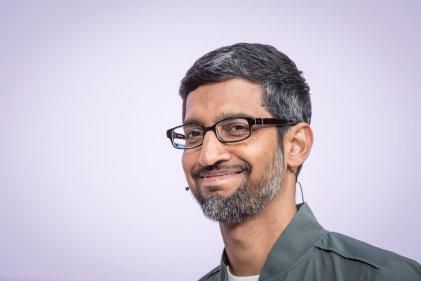 Сундар Пичай, главен изпълнителен директор на Google. Снимка: Getty Images