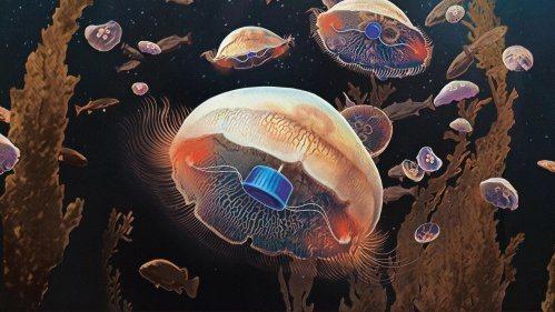Учени създадоха свръхсилна медуза-киборг